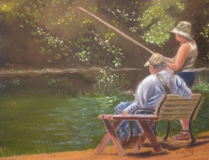 the fishing lesson 1[3] jim Peacher