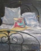iron bed Oil- Susan Jenkins