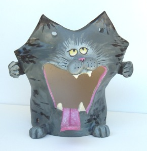cat bird feeder-Edie Schneider