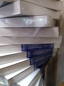 16x20 Gessoed Cradled Boards