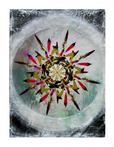 Karen Bright - Feathers 12x16 $1500