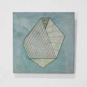 Trisha Ramsay -  Folding Forms 3 16x16 $500