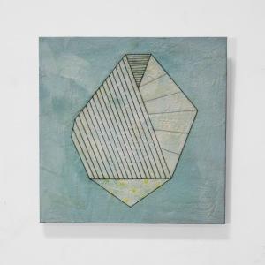 Trisha Ramsay -  Folding Forms 3 16x16 $500