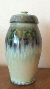 Steve Weaver Ceramic Covered Pot