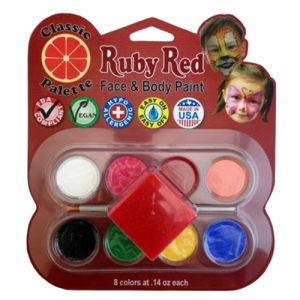 Ruby Red Facepaint Classic