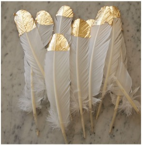 goldleaf feather
