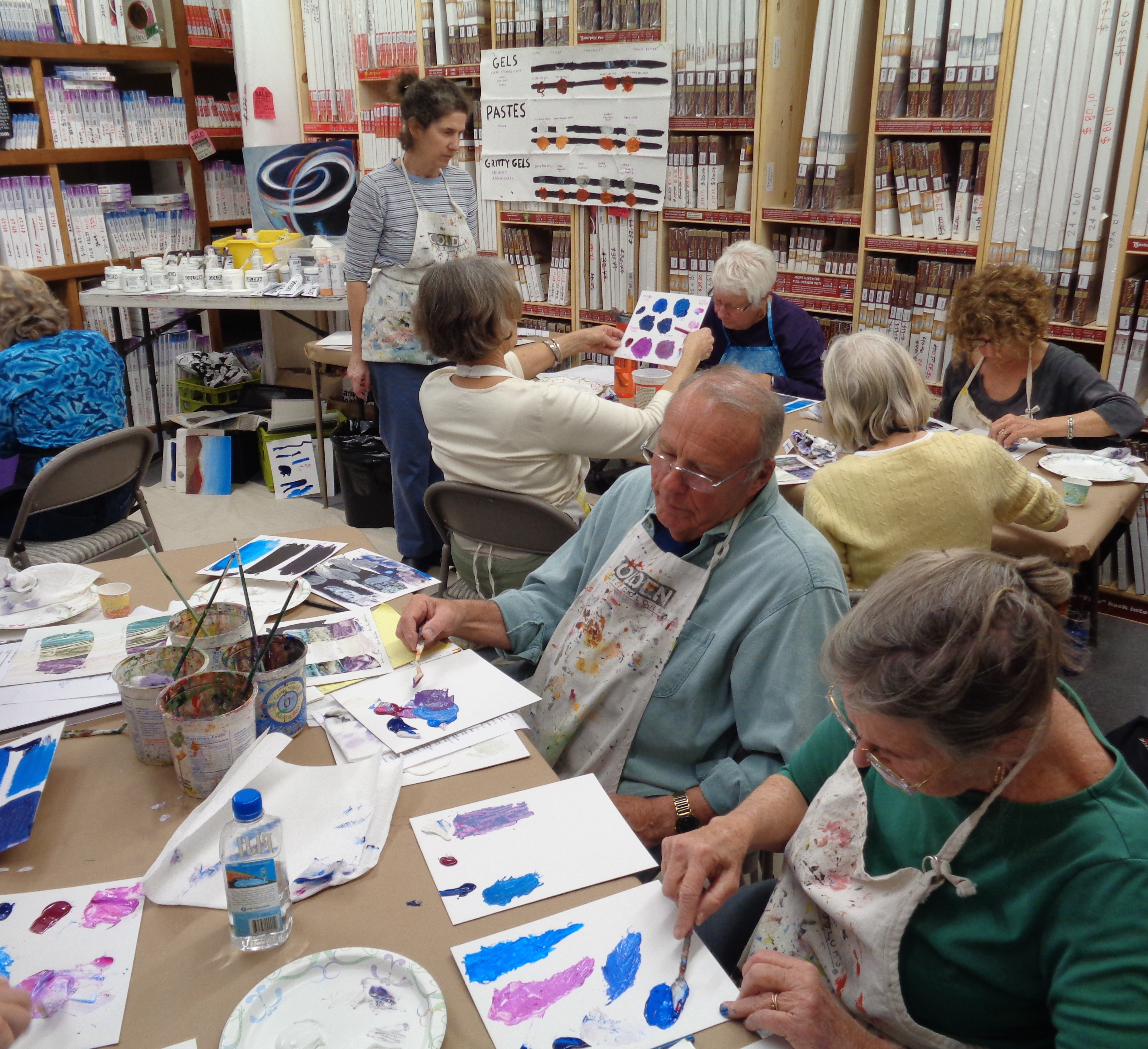 Classes And Workshops Art Central Art Supply Amp Gallery