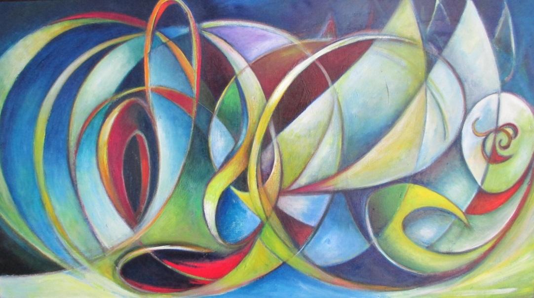 Judy Gittlesohn Odyssey, 2013 40 x 72