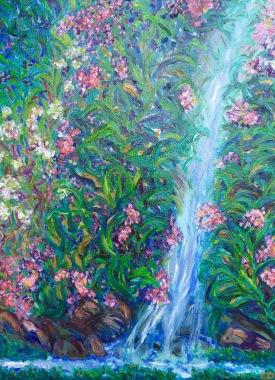 Charlotte D'Aigle Berney - Hidden Falls