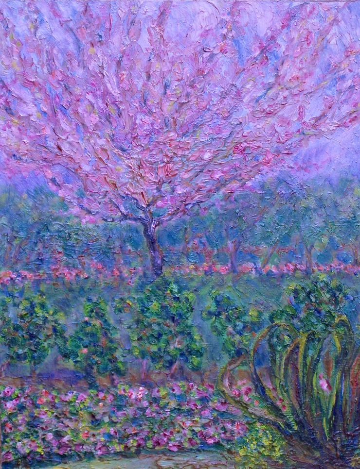 giverny-iii-by-charlotte-daigle-oil-on-board-14x11