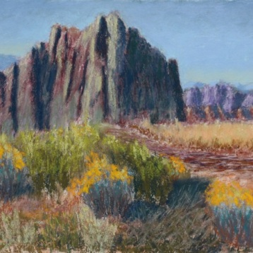 Tom Frey, Approaching Smith Rock