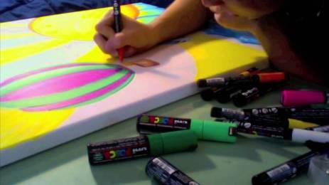 Posca painting 1