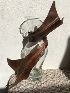 WhaleTails - Melissa Traylor - Copper and Glass