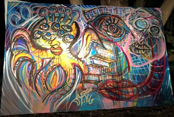 Shabang painting