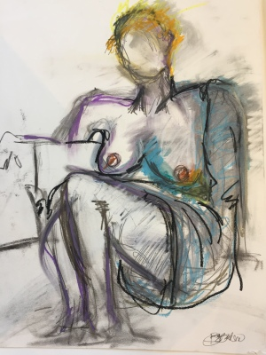 Susan Burgunder 25x30