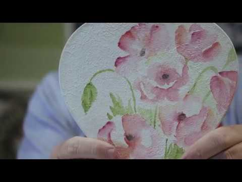 Watercolor Your World beyond paper with Daniel Smith Watercolor Ground