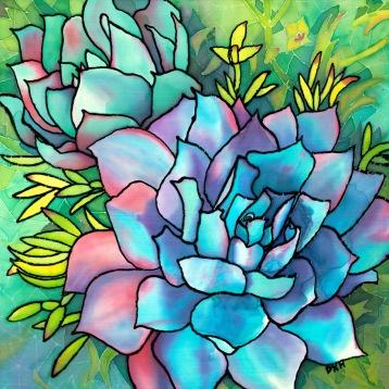 """""""Blue Mood"""" Dana Kimberly Hixson"""