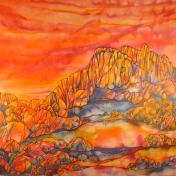 """""""Into That Fierce Heat"""" Jeanne Miller"""