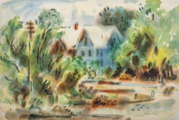 """Blue House in Georgetown"""