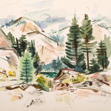 """""""High Sierra Lake"""""""