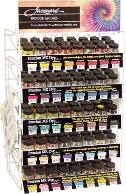 Procion dye display