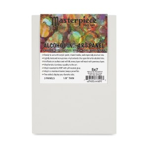 Masterpiece Alcohol Ink Panels